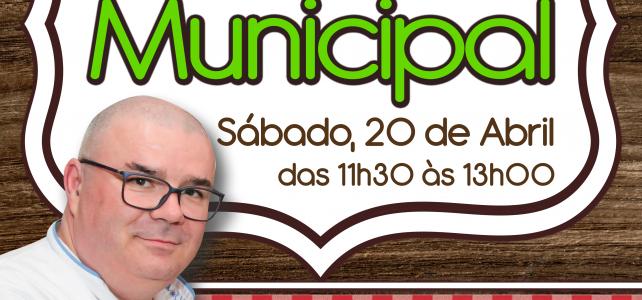 CHEF JOSÉ-MARIA MOREIRA NO MERCADO MUNICIPAL DE VELAS